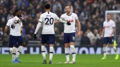 Indosport - Tottenham Hotspur berhasil meraih kemenangan tipis atas Brighton & Hove Albion di pekan ke-19 Liga Inggris dalam hasil pertandingan 2-1.