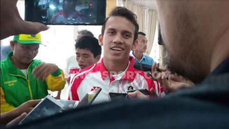 Pesepak bola muda asal Sumut yang bermain di klub Eropa Polandia Lechia Gdansk, Egy Maulana Vikri. - INDOSPORT