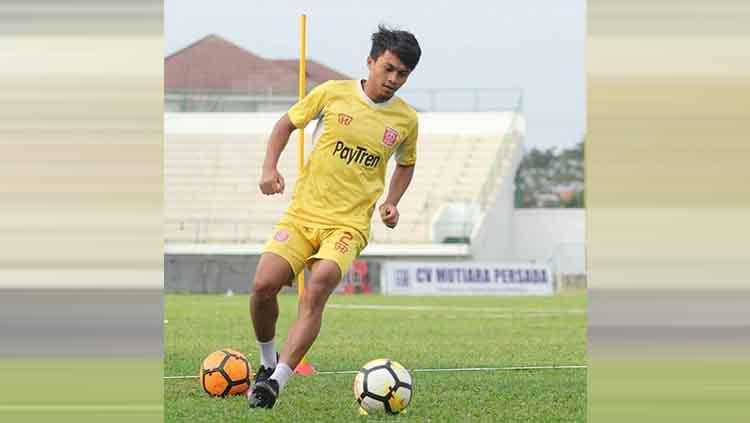 Pemain Perseru Badak Lampung FC Kurniawan Karman Copyright: Instagram/@sepakbola.sulawesi