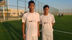 Indosport - Wonderkid Indonesia: Muhammad Reza Kusuma (kanan), Gemilang di Spanyol dan Mentas di Kroasia