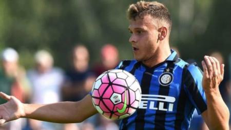 Federico Dimarco, pemain sepak bola dari klub Liga Italia, Inter Milan. - INDOSPORT