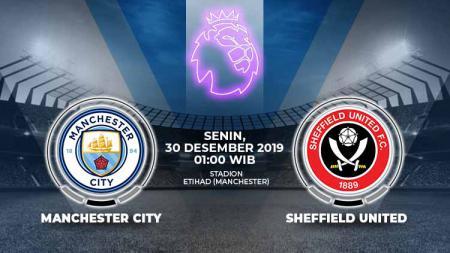 Prediksi pertandingan Manchester City vs Sheffield United di Liga Inggris 2019-20 tampaknya bakal menjadi sangat penting untuk tuan rumah, Senin (30/12/19). - INDOSPORT