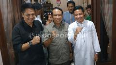 Indosport - Evan Dimas dikunjungi Menpora, Zainudin Amali