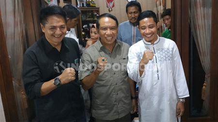 Evan Dimas dikunjungi Menpora, Zainudin Amali - INDOSPORT