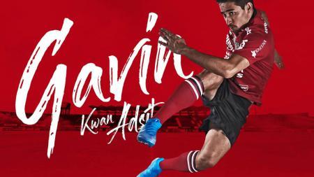 Ilustrasi Bali United ketika memperkenalkan Gavin Kwan Adsit. - INDOSPORT