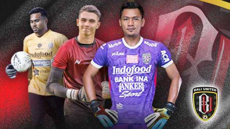 Perekrutan Nadeo Argawinata tampaknya membuat persaingan kiper utama klub sepak bola Liga 1 Bali United menjadi sangat panas. - INDOSPORT
