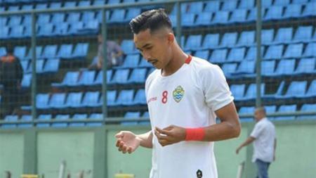 Top skor Liga 3 2019, Mochamad Rikza Syahwali, mengaku mendapat tawaran dari beberapa tim Liga 2 setelah membawa PSKC Cimahi promosi ke Liga 2 2020. - INDOSPORT