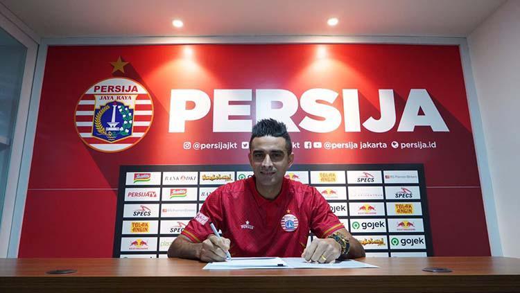 Otavio Dutra resmi bergabung ke Persija Jakarta. Copyright: Media Persija