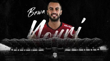 Gelandang Bali United, Brwa Nouri. - INDOSPORT