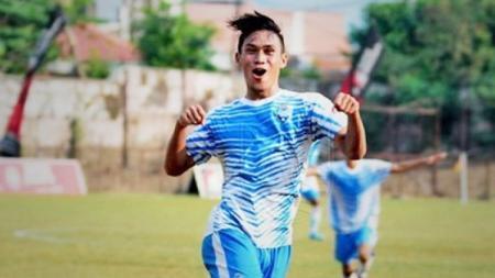 Rizki Hidayat saat masih membela Maung Anom (tim satelit Persib Bandung) di Liga 3. - INDOSPORT