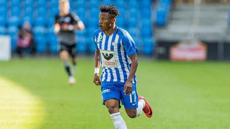 Pemain baru Madura United, Emmanuel Oti Essigba - INDOSPORT