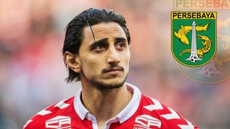 Tinggalkan Persebaya gara-gara Liga 1 Indonesia tanpa kejelasan, Mahmoud Eid malah jadi tandem pemain Indonesia di klub Qatar, Al-Mesaimeer Sports Club. - INDOSPORT