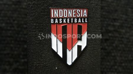Logo baru Timnas Basket Indonesia. - INDOSPORT
