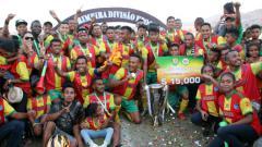 Indosport - Top skor Timnas Timor Leste, Rufino Walter Gama, sesumbar membawa klubnya, Lalenok United, menundukkan PSM Makassar.