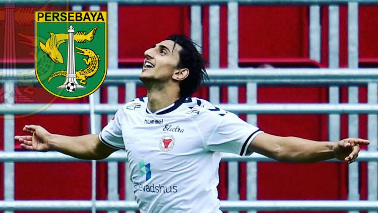 Mahmoud Eid, pemain asing incaran Persebaya Copyright: https://www.instagram.com/mahheeid/