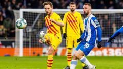 Indosport - Pesan Berkelas Ivan Rakitic Untuk Lionel Messi dan Barcelona