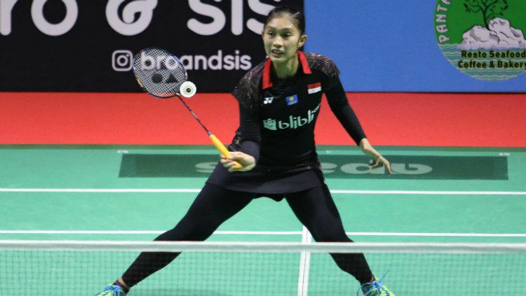 Choirunnisa, tunggal putri di Indonesia Masters 2018. Copyright: Badminton Indonesia