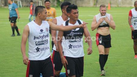 Lerby Eliandry menjalani sesi latihan perdana di Bali United menjelang kick-off Liga 1 2020. - INDOSPORT