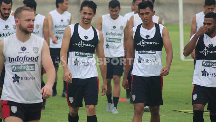 Latihan perdana Bali United. Copyright: Nofik Lukman/INDOSPORT