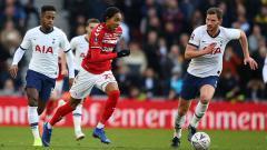Indosport - Berikut tersaji jadwal pertandingan sepak bola Piala FA 2019-2020, dimana salah satunya ada laga Tottenham Hotspur vs Middlesbrough.