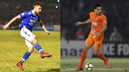 Adu Statistik Bomber Argentina Jonathan Bauman dan Matias Conti, Arema FC Pilih Siapa untuk Liga 1 2020? - INDOSPORT