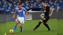 Indosport - Situasi pertandingan Serie A Liga Italia antara Napoli vs Inter Milan.