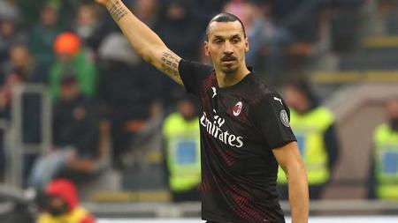 Sakit Flu, Ibra Terancam Absen di laga AC Milan vs Verona - INDOSPORT