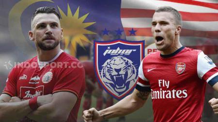 Gagal rekrut Marko Simic, klub Malaysia Johor Darul Takzim incar legenda Jerman Lukas Podolski. - INDOSPORT