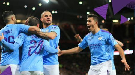 Manchester City masih menghadapi potensi tak bisa berlaga di kancah Eropa, termasuk Liga Champions, karena hukuman UEFA. - INDOSPORT