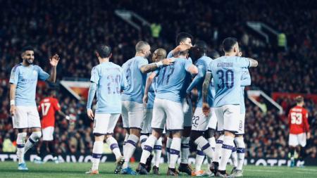 Kerap alami kesialan akibat VAR, Manchester City pastikan bakal mujur di Liga Inggris musim depan. - INDOSPORT