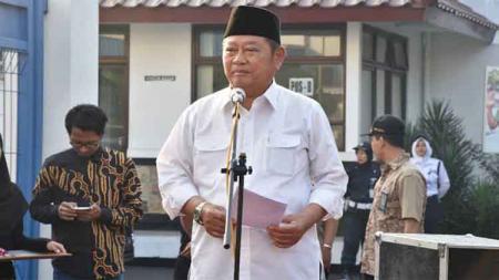 Bupati Sidoarjo Saiful Ilah baru saja kena Operasi Tangkap Tangan Komisi Pemberantasan Korupsi (OTT KPK) dan ternyata punya jejak di sepak bola Indonesia. - INDOSPORT