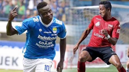 Hadirnya Wander Luiz bisa saja membuat Persib Bandung tidak menyesal ditinggal penyerang andalannya di Liga 1, yakni Ezechiel N'Douassel. - INDOSPORT
