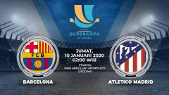Indosport - Berikut prediksi pertandingan antara Barcelona vs Atletico Madrid di ajang Piala Super Spanyol, Jum'at (10/01/20) dinihari WIB.