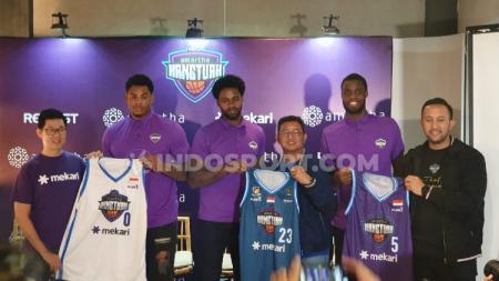 Kontestan Indonesia Basketball League (IBL) 2020, Amartha Hang Tuah resmi memperkenalkan skuatnya. - INDOSPORT