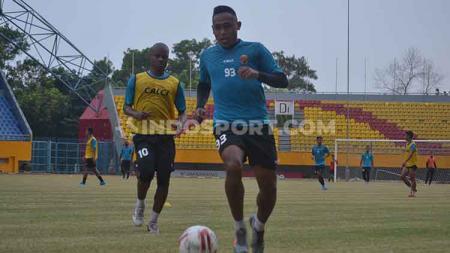 Setelah menunggu cukup lama, akhirnya para penggawa Sriwijaya FC mulai berdatangan di Bumi Sriwijaya jelang Liga 2 2020. - INDOSPORT
