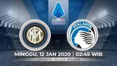 Indosport - Link live streaming pertandingan Serie A Liga Italia pekan ke-19 antara Inter Milan vs Atalanta (Serie A Italia)