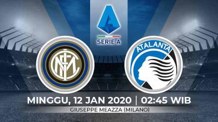 Link live streaming pertandingan Serie A Liga Italia pekan ke-19 antara Inter Milan vs Atalanta (Serie A Italia) - INDOSPORT
