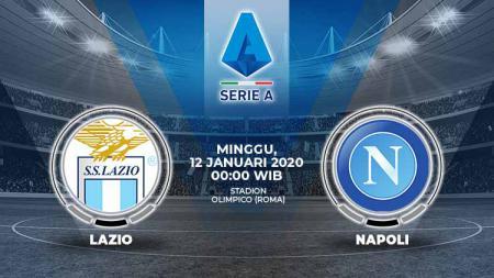 Berikut prediksi pertandingan antara Lazio vs Napoli dalam lanjutan Serie A Italia 2019-2020 pekan ke-19, Minggu (12/01/20) WIB - INDOSPORT
