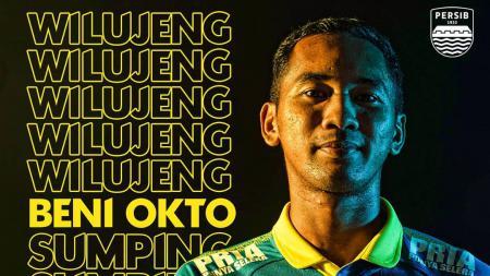 Beni Oktoviani resmi berseragam klub Liga 1 2020, Persib Bandung - INDOSPORT