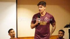 Indosport - Penyerang asing klub Liga 1 PSM Makassar, Giancarlo Lopes Rodrigues.