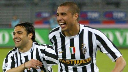 Miccoli (kiri) saat masih berseragam Juventus. - INDOSPORT