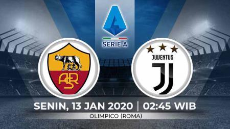 Prediksi Pertandingan antara AS Roma vs Juventus (Serie A Italia). - INDOSPORT