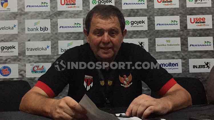 Rajko Toroman, Pelatih Indonesia Patriots Copyright: Petrus DaYerimon/INDOSPORT
