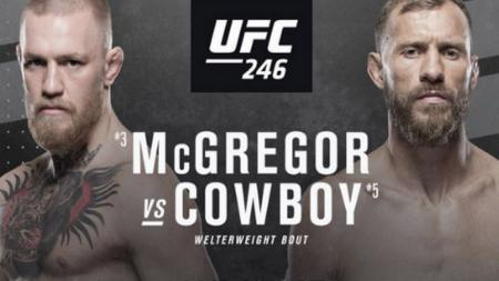 Adu Statistik Conor McGregor vs Donald Cerrone Jelang Pertarungan di UFC 246 - INDOSPORT