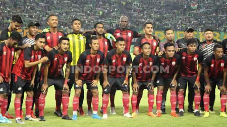 Persis Solo terus menambah amunisi untuk menghadapi kompetisi Liga 2 2020. Kini, dua pemain dari Liga 1 bakal merapat ke tim Laskar Sambernyawa dan salah satunya berasal dari klub Liga 1, yakni Madura United. - INDOSPORT