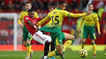 Berikut 3 fakta yang tersaji setelah laga Liga Inggris di mana Manchester United berhasil kembali ke trek kemenangan usai melibas Norwich 4 gol tanpa balas. - INDOSPORT