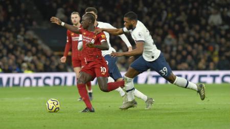 Situasi pertandingan Liga Inggris antara Tottenham vs Liverpool, Minggu (12/01/20) dini hari WIB. - INDOSPORT