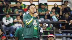 Indosport - Presiden Persebaya Azrul Ananda menyampaikan bocoran pemain baru di Stadion Gelora Bung Tomo, Sabtu (11/1/20).