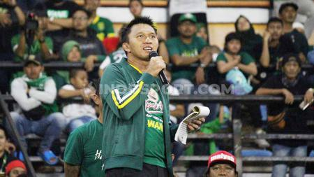 Presiden klub Liga 1 Persebaya, Azrul Ananda dikabarkan menolak terjun ke dunia politik. - INDOSPORT
