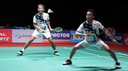 Pasangan Fajar Alfian/Muhammad Rian Ardianto meraih tiket terakhir semifinal Indonesia Masters 2020 usai menaklukkan Kim Astrup/Anders Rasmussen, Jumat (17/01/20) malam.